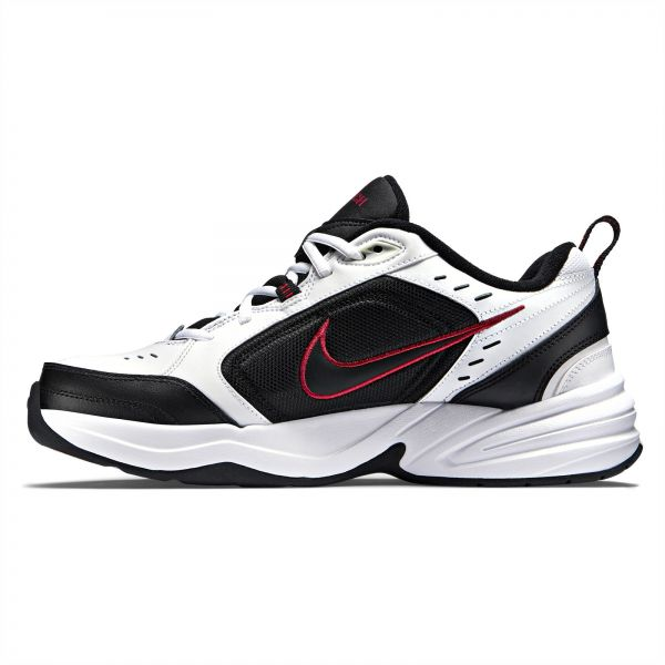 3a7f7b8531400 Nike air Monarch IV Training Shoes for Men - White/Black | Souq - UAE