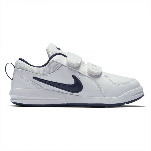 Nike Pico 4 PSV Sports Sneakers for Kids - White Midnight Navy ... 0fd13b06862