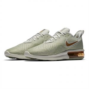 promo code c08e3 17ab6 Nike Air Max Sequent 4 Running Shoes for Men - Light Bone Dark Russet-Spruce