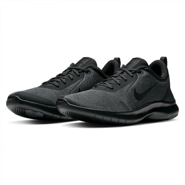 new concept 5b400 775e5 Nike Flex Experience RN 8 Running Shoes for Men - Black Dark Grey   KSA    Souq