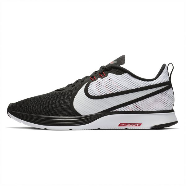 3507de1c32a Nike Zoom Strike 2 Running Shoes for Men - Black White. by Nike