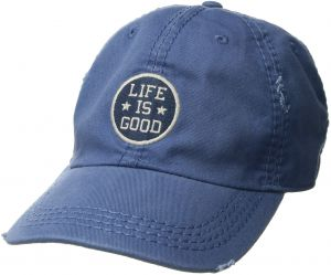 3a65f9db58f68 Life is Good Unisex Sunwashed Chill Cap Lig Star Coin