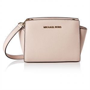 58083b17e39c9 Michael Kors 32H3GLMC1L 187 Selma Crossbody Bag for Women - Leather