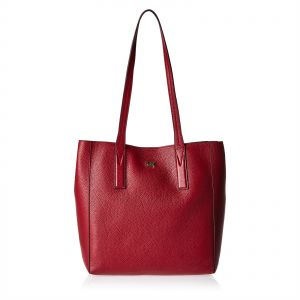 b10070065c73 Michael Kors 30T8TX5T2L 550 Junie Tote Bag for Women - Leather, Maroon