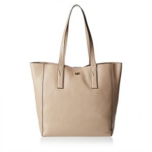 cbca6d2313e5f Michael Kors 30T8TX5T3L 208 Junie Large Pebbled Tote Bag for Women - Leather,  Beige