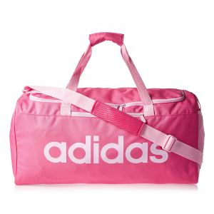 4317ed14c7b4 adidas Linear Core Medium Duffel Bag for Women - Pink