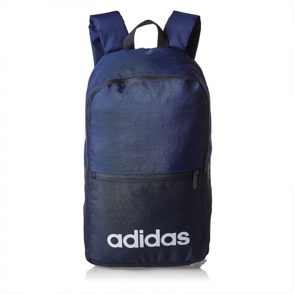 adidas DT8637 Linear Classic Daily Backpack for Men - Blue  df77a7692c6df