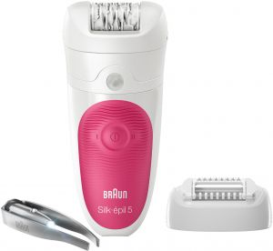 Braun Silk-épil 5 5-531 Wet   Dry Cordless Epilator With 3 Extras Including  A Lighted Tweezer ebafad3664