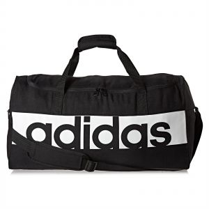 more photos f04ba 883a9 Adidas Linear Performance Unisex Duffel Bag - Black