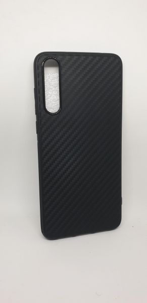 Business style huawei P20 pro carbon fiber pattern case tpu by hunch