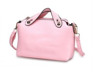 Naivo PU Leather Coral Leather Sleek Satchel Bags b9c90b681404b