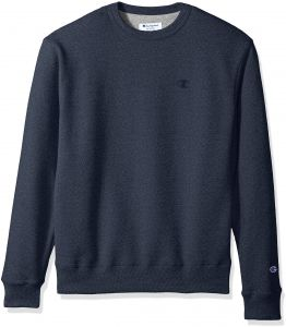 Champion Men s Powerblend Fleece Pullover Sweatshirt a72fcb1a865