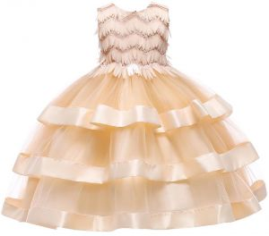 ec30c058e629 Cute Baby Tutu Dress For Girls Dresses Kids Clothes Wedding Events Flower Girl  Dress Birthday Party Costumes Children Clothing