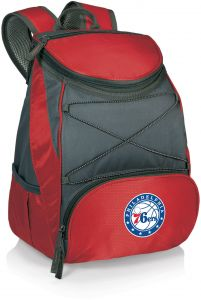 f3ca2159360 PICNIC TIME NBA Philadelphia 76ers PTX Insulated Backpack Cooler