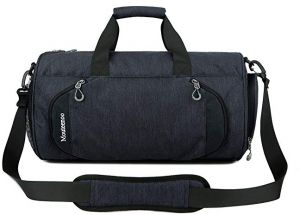 4ea1308297 IX Sports Gym Large Duffel Bag with Shoes Compartment Travling Outdoors Duffle  Bag for Men Women Black