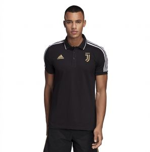 Adidas Weft knitted Juventus Polo for Men - Black 943255dfb59b