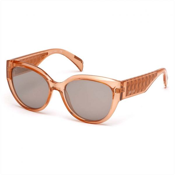 ebf472ab91f9 Just Cavalli Oval Shaped Sunglasses for Women - Smoke Mirror, JC781S-72C