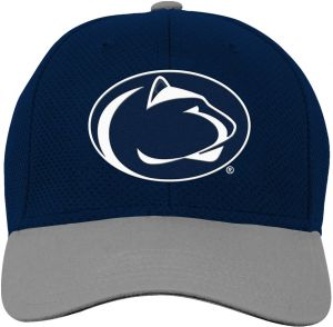 new concept 46d48 c8dc5 NCAA Penn State Nittany Lions Youth Boys Tech Structured Snap Hat, Dark  Navy, Youth One Size