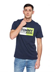 d00f53d5be Tommy Jeans T-Shirts for Men - Navy