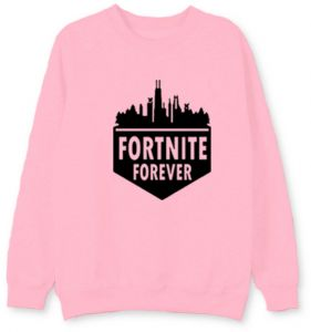 655f01417 Fortnite Crew Neck Cotton Thin Sweatshirt Basic Loose Pullover For Teenager  Boy Or Girl