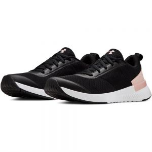 ea29e4dbcd4c6 Under Armour Aura Training Sneakers for Women - Black Flushed Pink