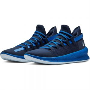 0bbe5575002 Under Armour Tag Low Basketball Sneakers for Men - Academy Blue  Strike Coded Blue