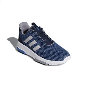 Adidas Cloudfoam Racer Tr Running Shoes For Kids Collegiate Navy