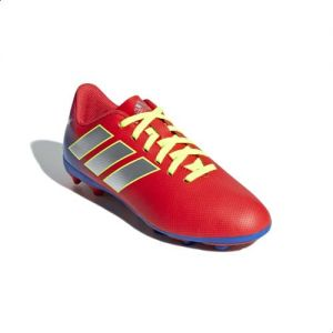 0344891a878 Adidas Nemeziz Messi 18.4 Flexible Ground Cleats Football Shoes For Kids -  Active Red
