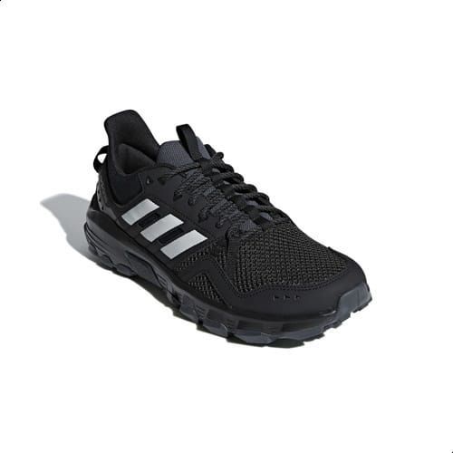 87a13bbd9a Adidas Rockadia Trail Running Shoes For Men - Core Black