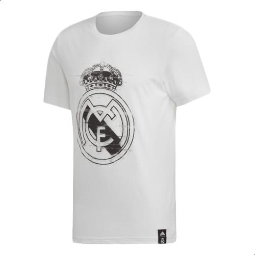 3ed088290 Adidas Real Madrid DNA Graphic Tee For Men - White