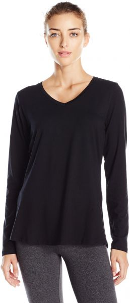c395500c74 Danskin Women's Essential Long Sleeve Tee, Black, M. by Danskin, Sportswear  - Be the first to rate this product
