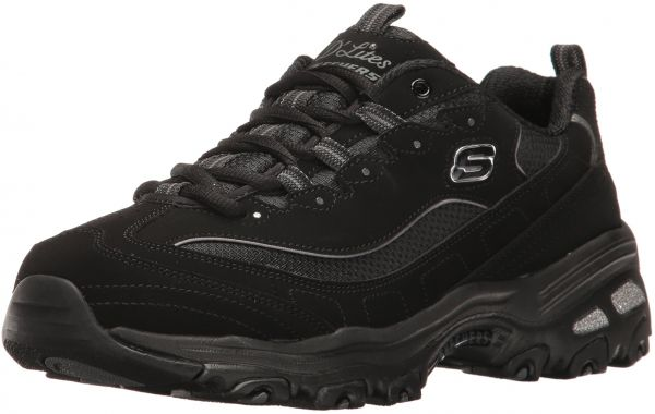 4580b0c2f42 Skechers Sport Women s D Lites Memory Foam Lace-up Sneaker
