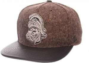 bd268114217 Zephyr NCAA Michigan State Spartans Adult Men Legend Heritage Collection Hat