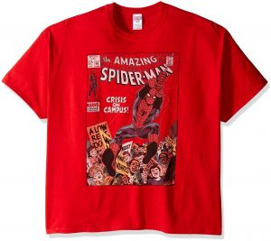 dd4f63c00 Buy marvel mens spider man comic book cent t shirt | Marvel Comics ...