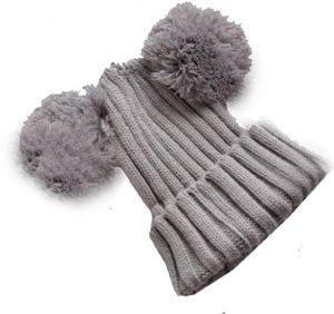 90ecaf9eb6cede Unisex stretchable free size mouse beanie sleeping winter wool hat for kids  or adults