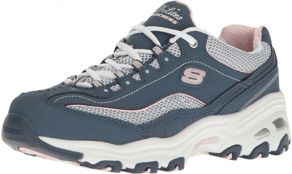 e76a322708cd Skechers Sport Women s D Lites Memory Foam Lace-up Sneaker
