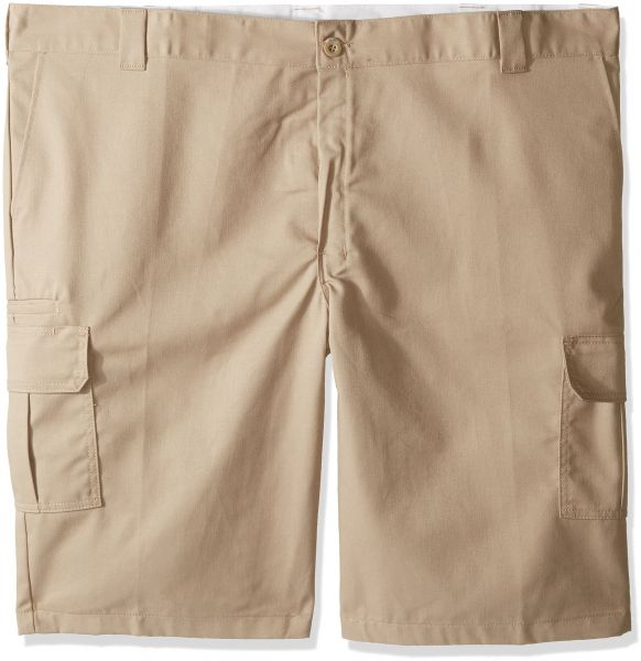 8ff46bbd81 Dickies Men's 13 Relaxed Fit Stretch Twill Cargo Short Big, Desert Sand, 48  | Souq - UAE