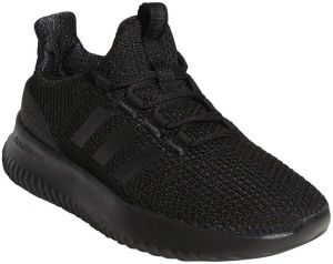 6ac940356489 Adidas Cloudfoam Ultimate Running Shoes for Kids - Core Black