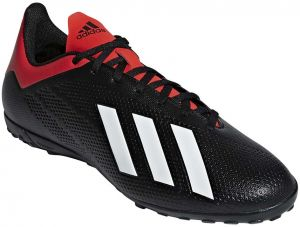 29e7431ff adidas X 18.4 TF Football Shoes for Men - Core Black Off White Active Red