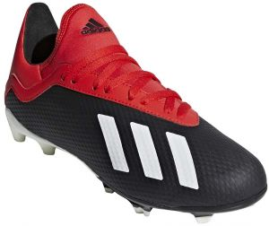 buy online eb2fa 22d61 adidas X 18.3 FG J Football Shoes for Kids - Core Black Off White Grey Four  F17