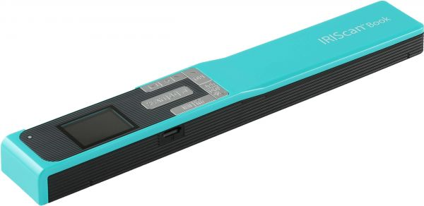 IRISCAN Book 5 30 PPM WiFi Or USB Connectivity any Device Portable Scanner, Turquoise