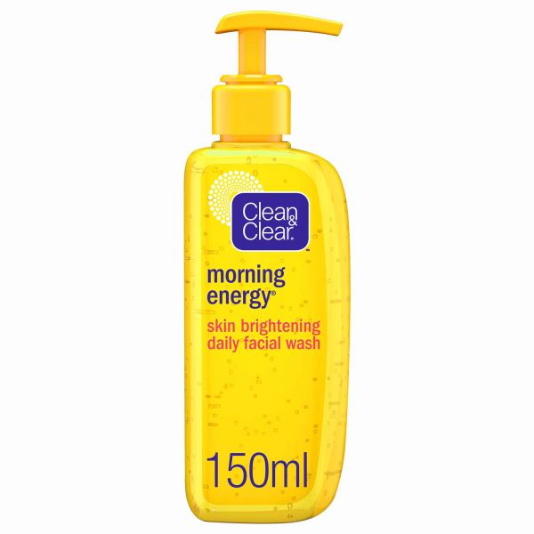 CLEAN & CLEAR, Facial Wash, Morning Energy, Skin Brightening, 150ml