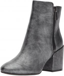 0795c4c0ba9 Kenneth Cole New York Women s Rima Bootie with Double Zip Block Heel  Leather Boot