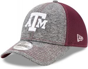more photos 241ce 1150b New Era NCAA Texas A M Aggies Adult Shadow Turn 9FORTY Adjustable Cap, One  Size, Graphite