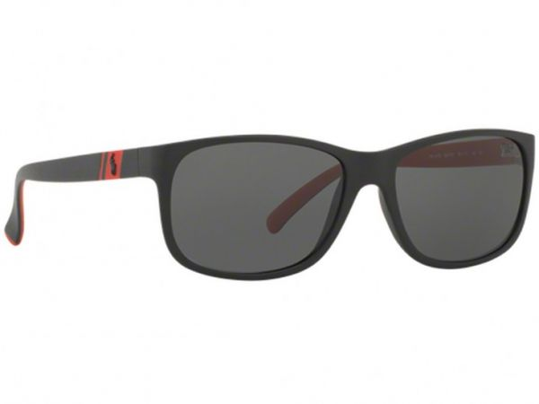 45dc1318a017 Polo Ralph Lauren Wayfarer Sunglasses for Unisex, Grey | KSA | Souq