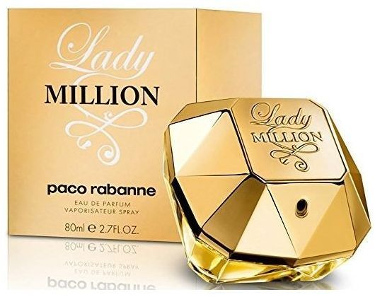 Lady Million By Paco Rabanne For Women Eau De Parfum 80ml Souq