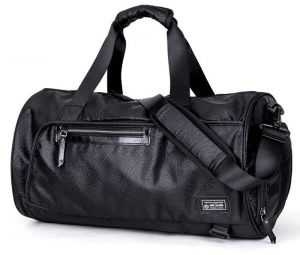1ddca4c729043 Sports Gym Bag with Shoes Compartment Travel Duffel Bag for Men and Women