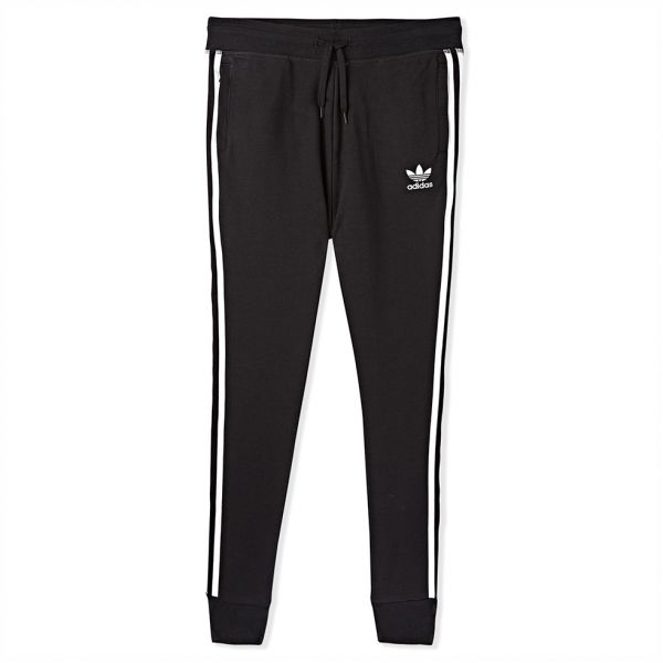 0a7e4692872 adidas Trefoil Fit Sports Pant for Boys - Black White