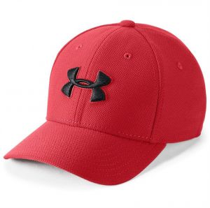 918e2436564 Under Armour Blitzing 3.0 Baseball Cap for Boys - Red Black