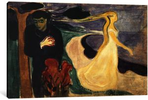 1893 Canvas Print by Edvard Munch 0.75 by 60 by 40-Inch iCanvasART 15281-3PC3 The Scream